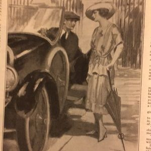 Vintage Other - Jan. 29, 1921 The Saturday Evening Post